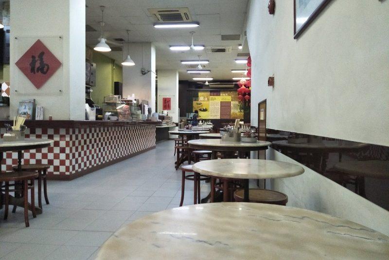 喜園咖啡店(YY Kafei Dian)の店内