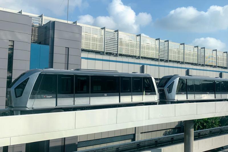 チャンギ空港スカイトレイン