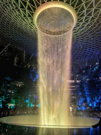 jewelの滝 ライトアップ