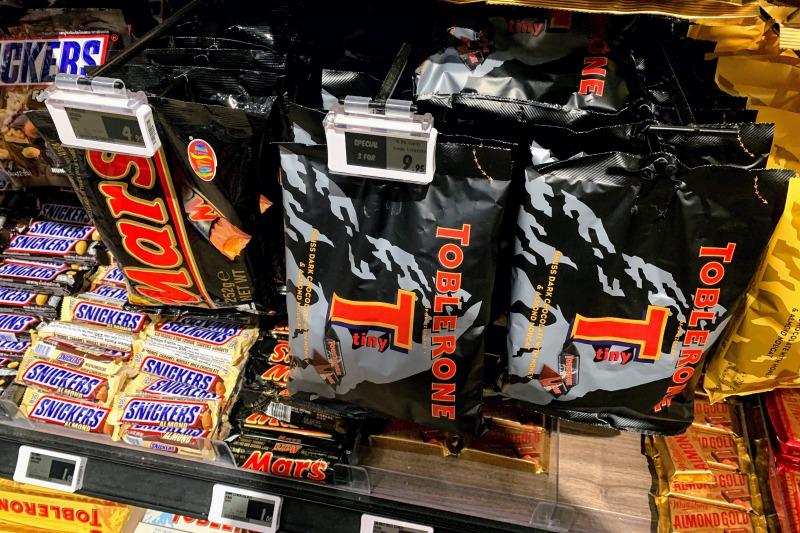 お土産のチョコレートの値段