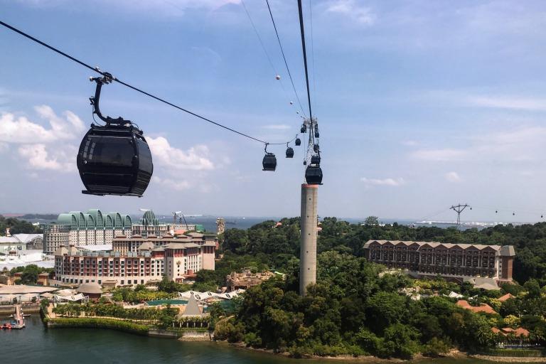 シンガポールケーブルカーからの絶景