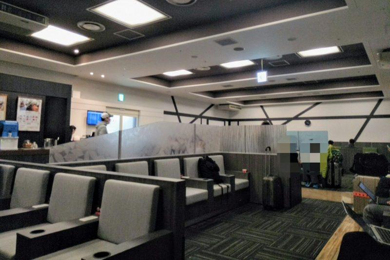 成田第2ターミナルプライオリティパスラウンジIASS EXECUTIVE LOUNGEの内部