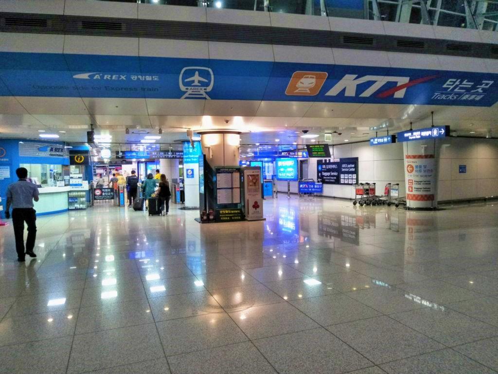 仁川国際空港KTX