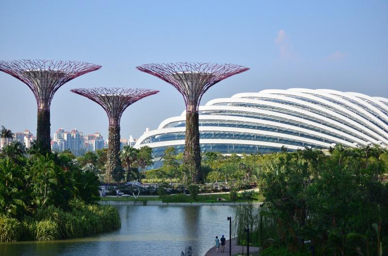 シンガポールガーデンバイザベイの外観