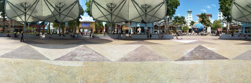 ユニバーサルスタジオの広場