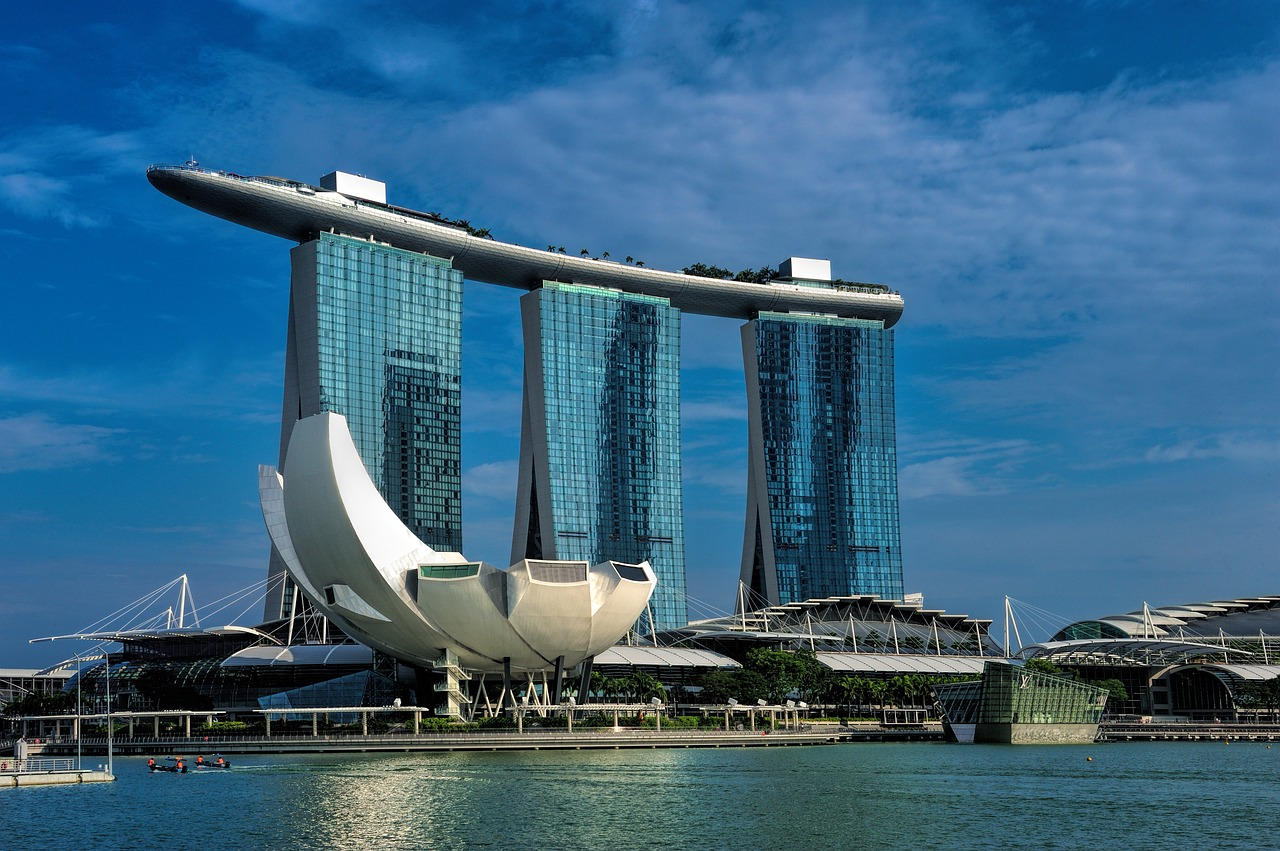 シンガポール 観光 マリーナベイサンズ