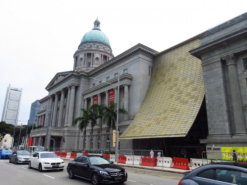 ナショナルギャラリーシンガポール正面