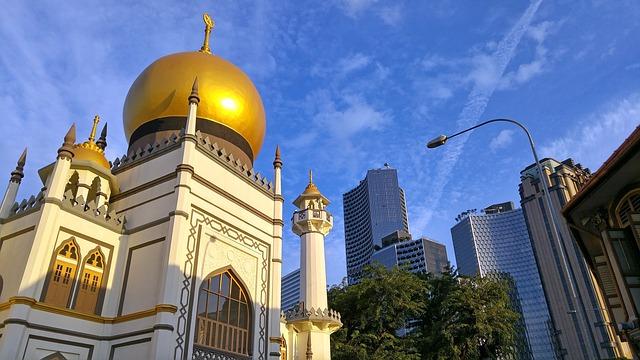 シンガポールの観光スポット サルタン・モスク