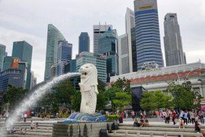 シンガポール 観光 マーライオン公園