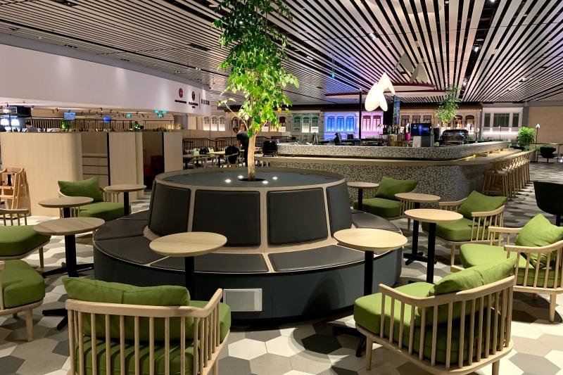 singapore changi airport terminal 4 lounge