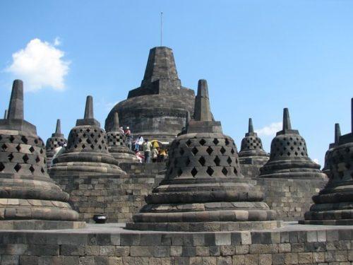 インドネシアボロブドゥール遺跡