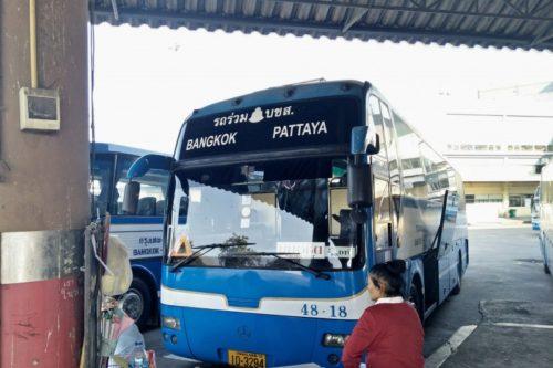 パタヤ行きバス