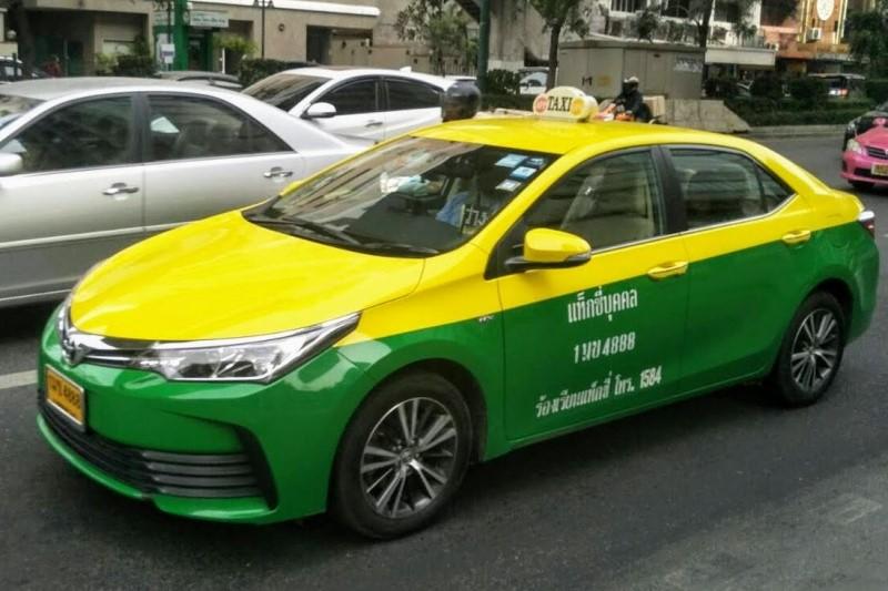 バンコク個人タクシー