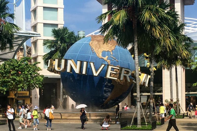 セントーサの人気スポット ユニバーサルスタジオシンガポール