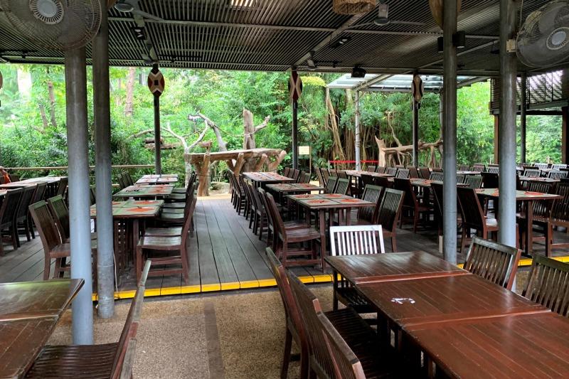 シンガポール動物園 アーメンレストラン