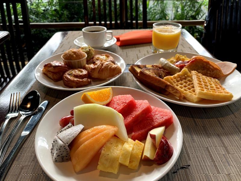 シンガポール動物園の朝食