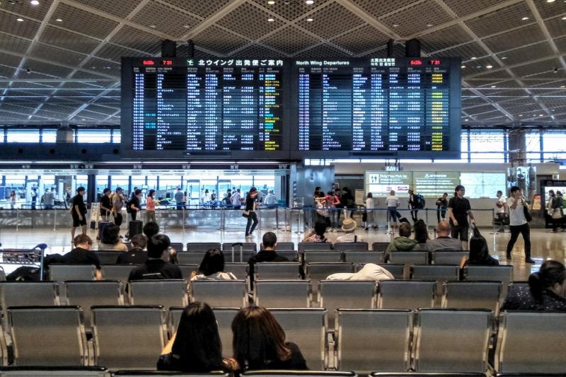 成田空港第1ターミナル 出発ロビー