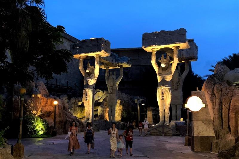 夜のUSS 古代エジプト