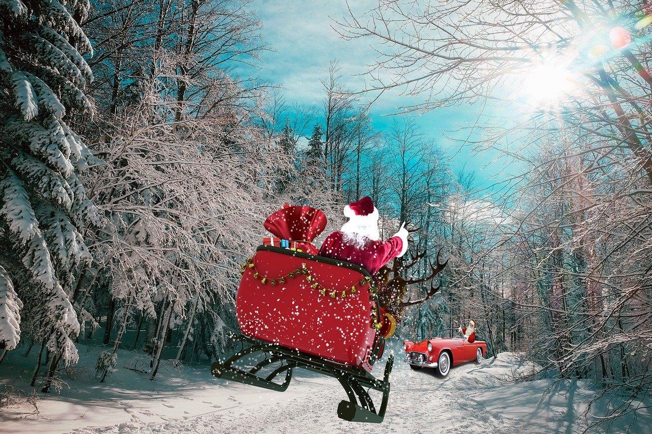 Santa's Hot Set