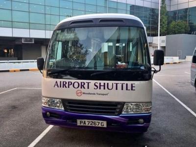 シンガポールチャンギ空港シャトルバス