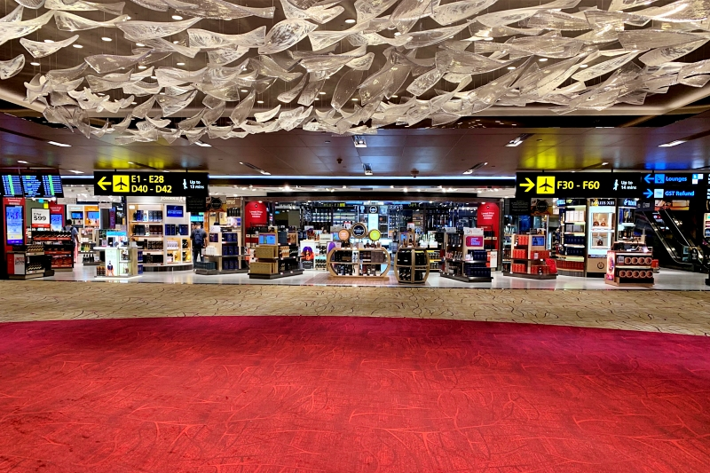 singapore airport terminal 2 shops
