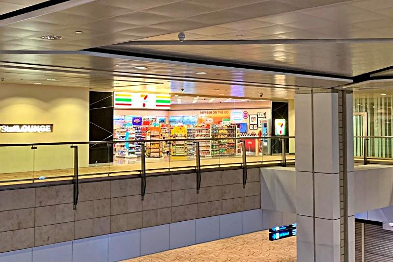 singapore changi airport terminal 2 セブンイレブン