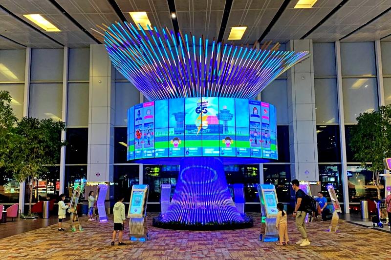 singapore changi airport termnal 1The Social tree