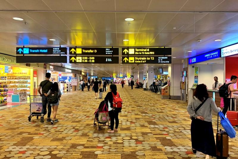 singapore changi airport termnal 1