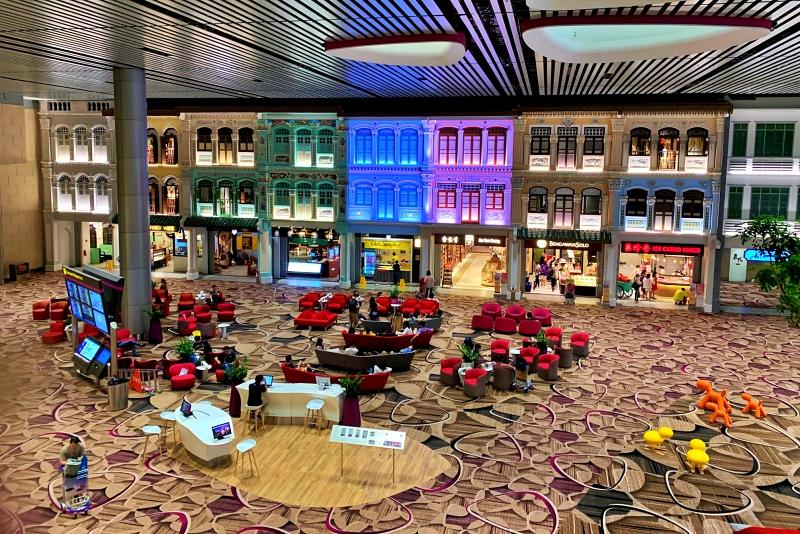 singapore changi airport terminal 4 休憩場所