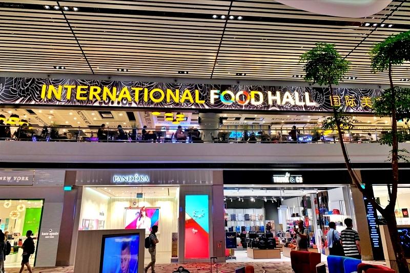 singapore changi airport terminal 4 food court